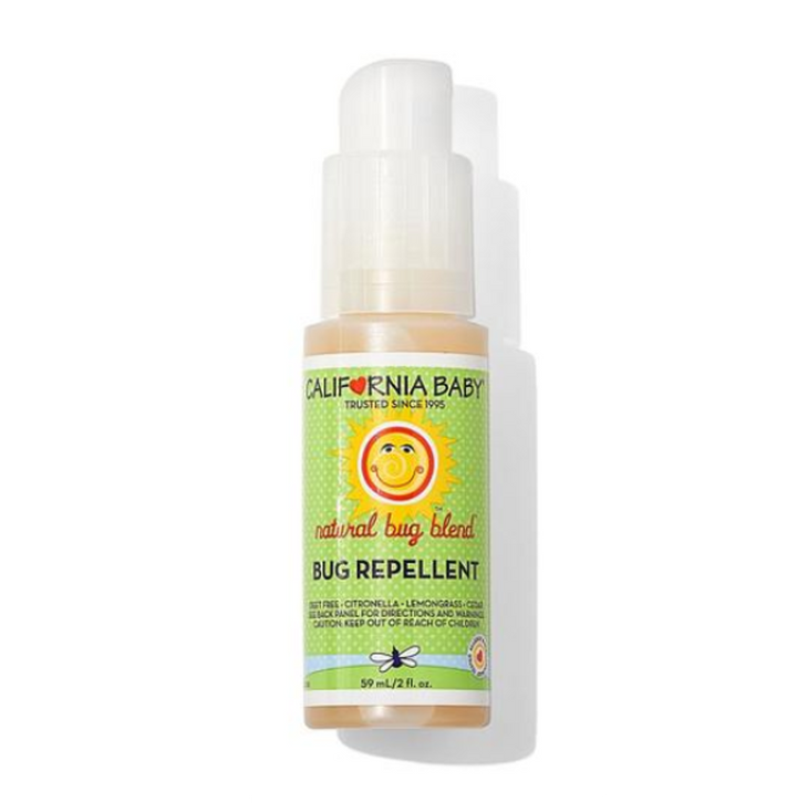 California Baby Natural Bug Repellent Spray -- 2 fl oz