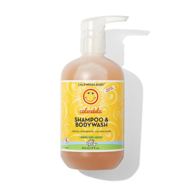 California Baby, Calendula Shampoo & Body Wash, 19 fl oz (562 ml)