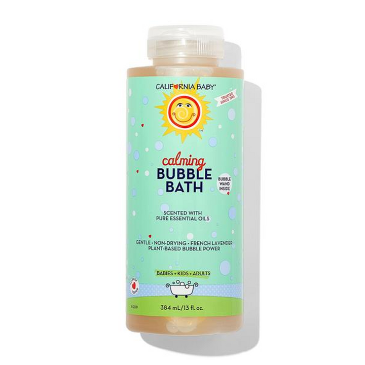 California Baby Calming™ Aromatherapy Bubble Bath French Lavender, 13 fl oz (384ml)