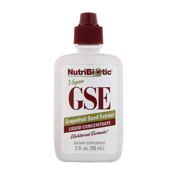 NutriBiotic, GSE, Grapefruit Seed Extract, Liquid Concentrate, 2 fl oz (59 ml) By NutriBiotic
