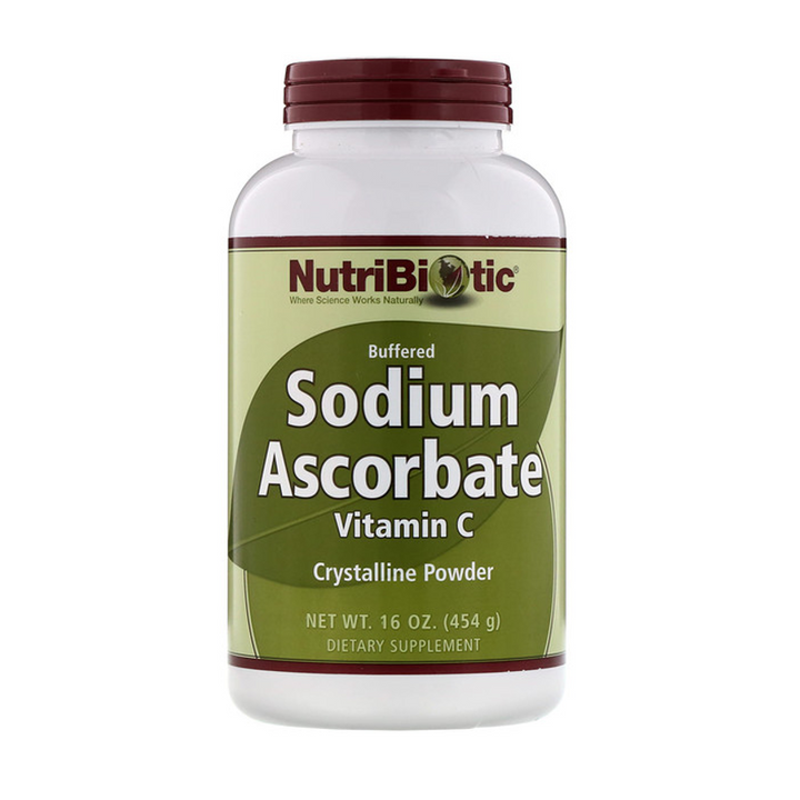 NutriBiotic, Buffered Sodium Ascorbate, Vitamin C, Crystalline Powder, 16 oz (454 g)
