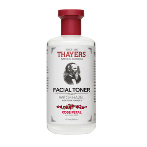 Thayers Rose Petal Witch Hazel Facial Toner, 12 floz (355 ml)