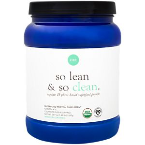Ora, so lean & so clean, Superfood Protein Supplement Organic Chocolate, 650g