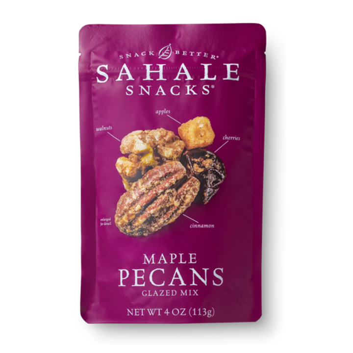 Sahale Snacks, Glazed Mix, Maple Pecans, 4 oz (113 g)