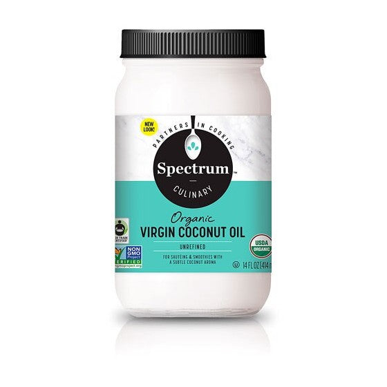 Spectrum Culinary Organic Virgin Coconut Oil Unrefined-Fair Trade  14 fl oz