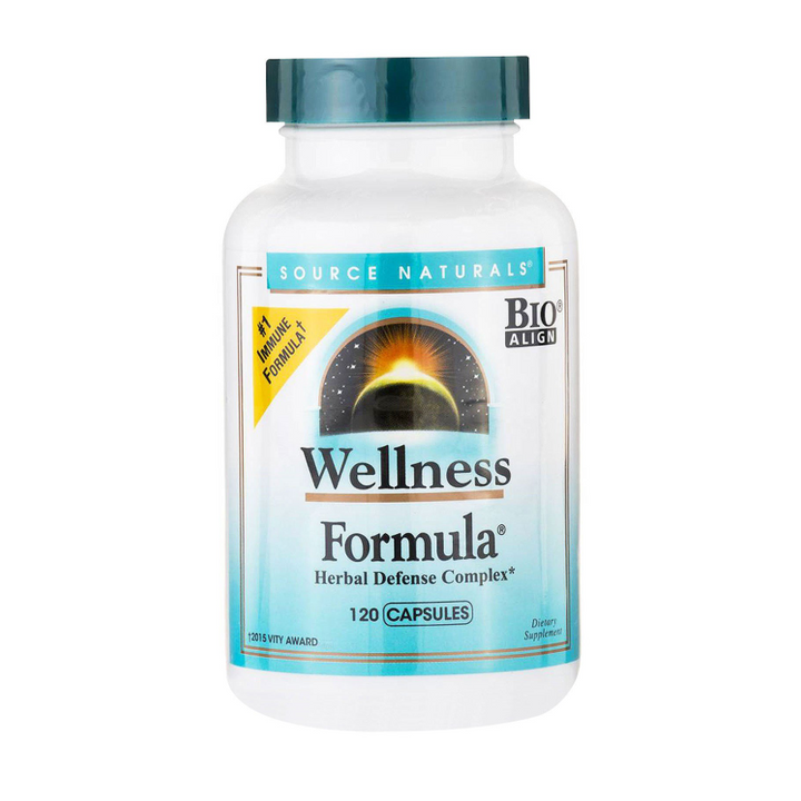 Source Naturals, Wellness Formula, Herbal Defense Complex, 120 Capsules