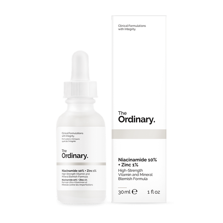 The Ordinary Niacinamide 10% + Zinc 1% 30ml - Niacinamide