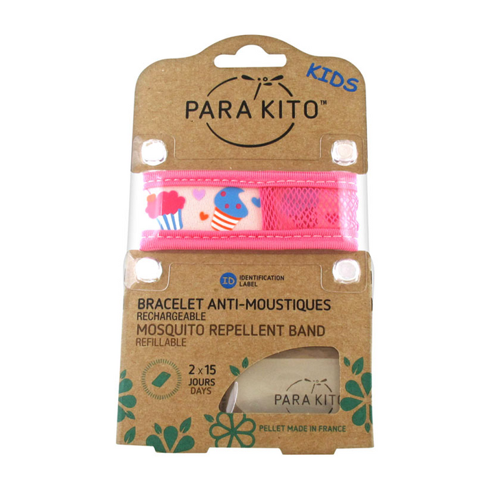 Parakito Kids Anti-Mosquitoes Bracelet - Pink Ice-Cream