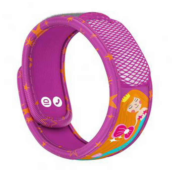 Parakito Kids Anti-Mosquitoes Bracelet - Pink Mermaid