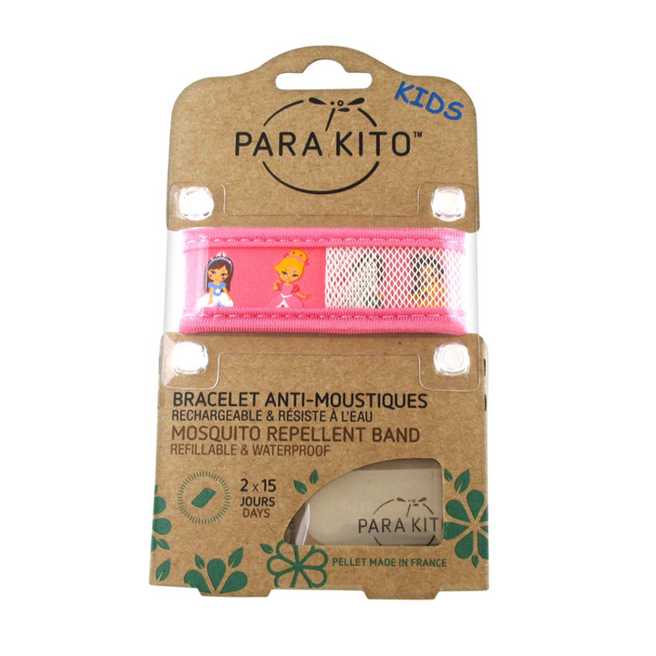 Parakito Kids Anti-Mosquitoes Bracelet - Pink Princess