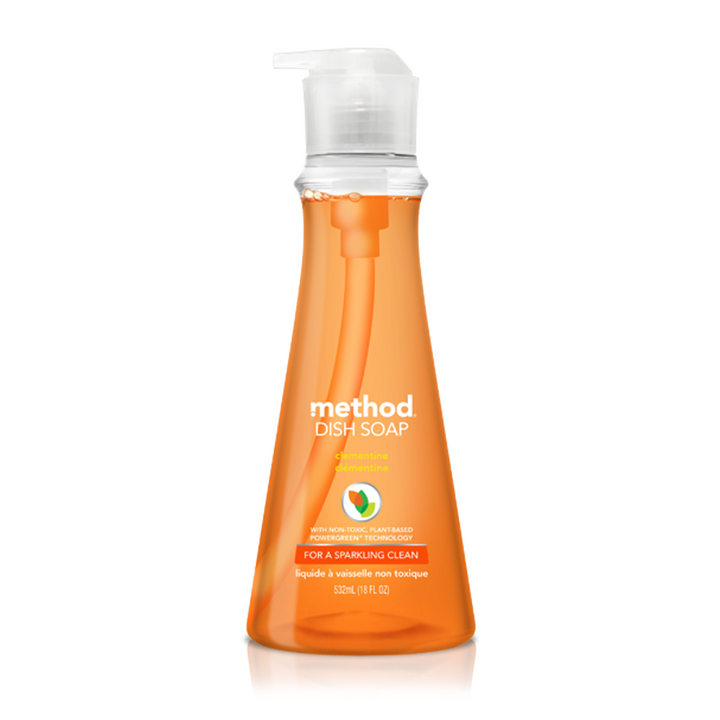 Method, Dish Soap, Clementine, 18 fl oz (532 ml)