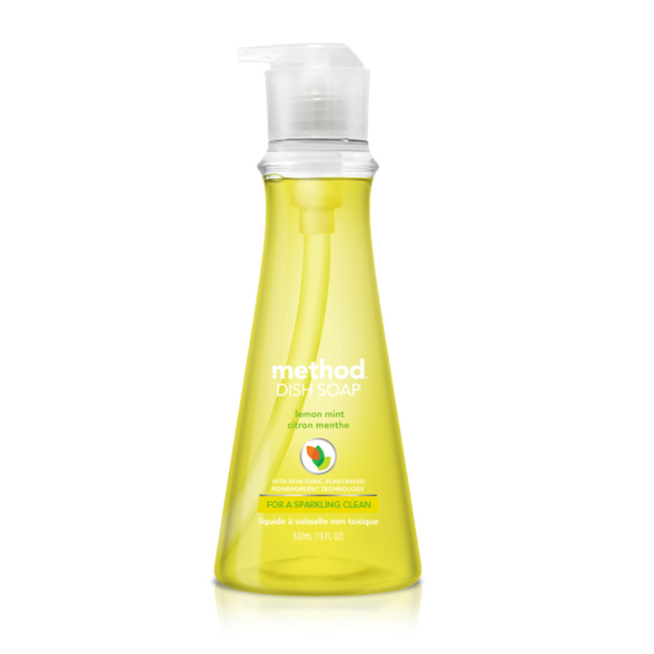 Method, Dish Soap, Lemon Mint, 18 fl oz (532 ml)