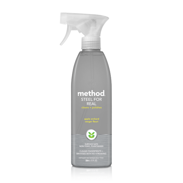Method, Steel for Real, Apple Orchard, 12 fl oz (354 ml)