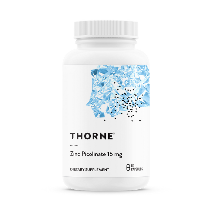 Thorne Research, Zinc Picolinate, 15 mg, 60 Capsules