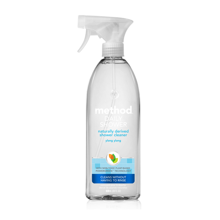 Method, Daily Shower, Natural Shower Cleaner, Ylang Ylang, 28 fl oz (828 ml)