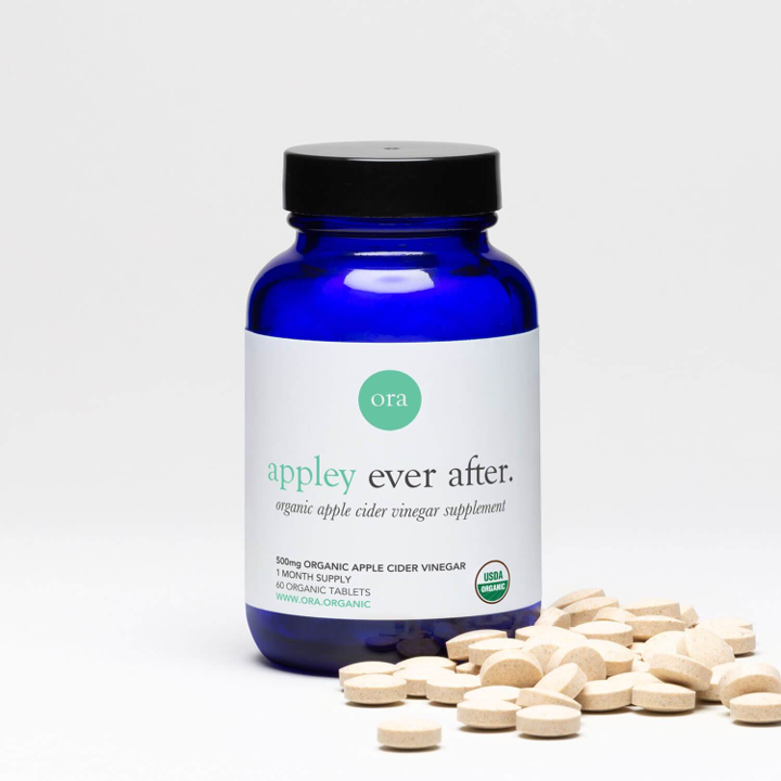 Ora Organic, Appley Ever After, Organic Apple Cider Vinegar Pills, 60 Organic Tablets