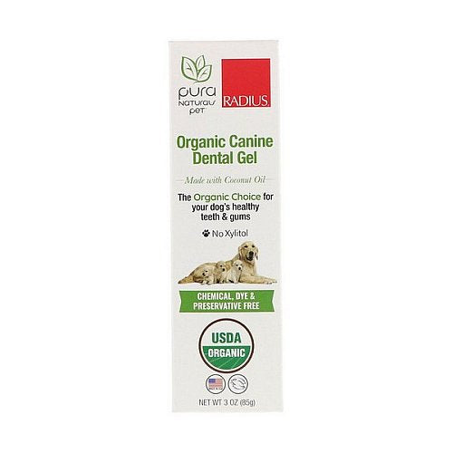RADIUS, Organic Canine Dental Gel, 3 oz (85 g)