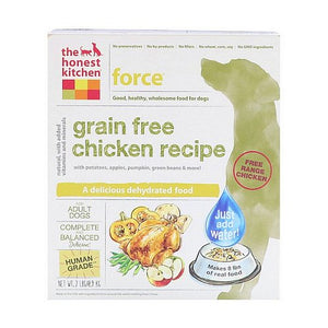 The Honest Kitchen, Force, Grain-Free Dehydrated Dog Food, Chicken Recipe, 2 lbs (0.9 kg)