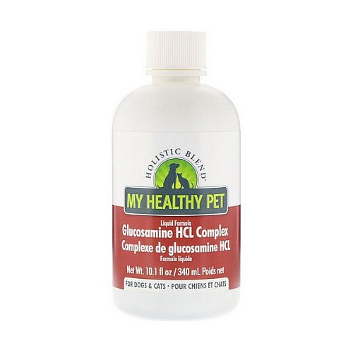 Holistic Blend, My Healthy Pet, Liquid Formula, Glucosamine HCL Complex, For Dogs & Cats, 10.1 fl oz (340 ml)