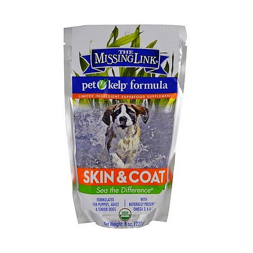 The Missing Link, Pet Kelp Formula, Skin & Coat, For Dogs, 8 oz (227 g)