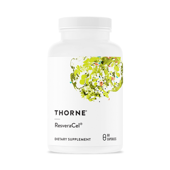 Thorne Research, Resveracel, 60 Capsules