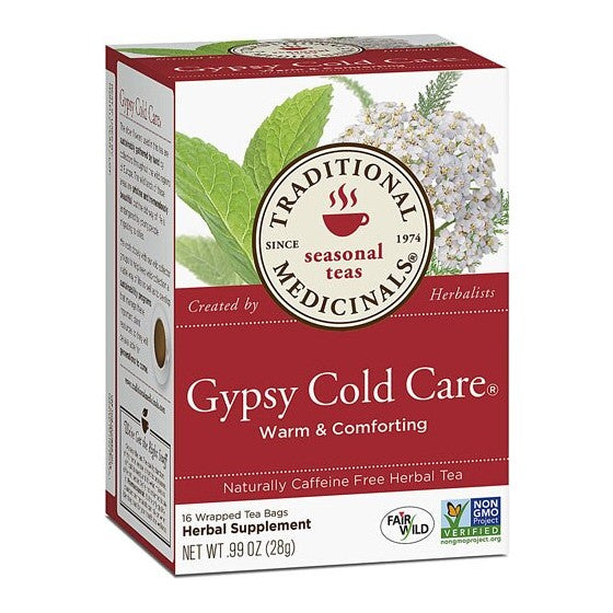 Traditional Medicinals Gypsy Cold Care Herbal Tea  16 Tea Bags