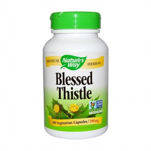 Nature's Way, Blessed Thistle, 390 mg, 100 Vegetarian Capsules