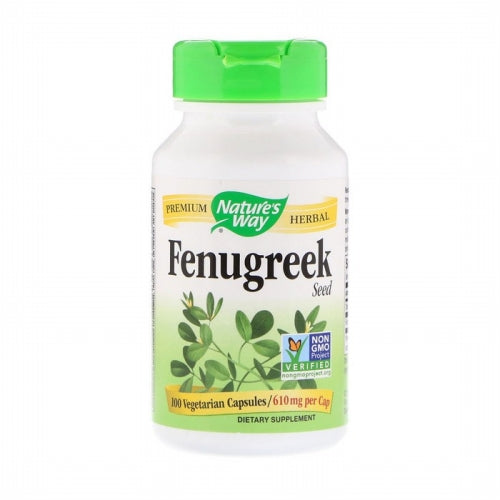 Nature's Way, Fenugreek Seed, 610 mg, 100 Vegetarian Capsules