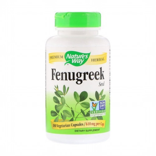 Nature's Way, Fenugreek Seed, 610 mg, 180 Vegetarian Capsules