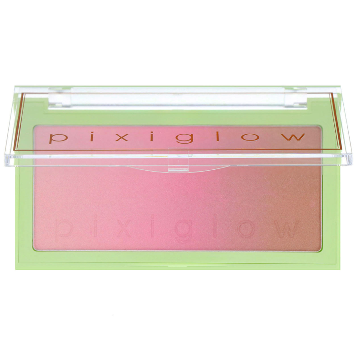 Pixi Beauty, Pixiglow Cake, 3-in-1 Luminous Transition Powder, Pink Champagne Glow, 0.85 oz (24 g)