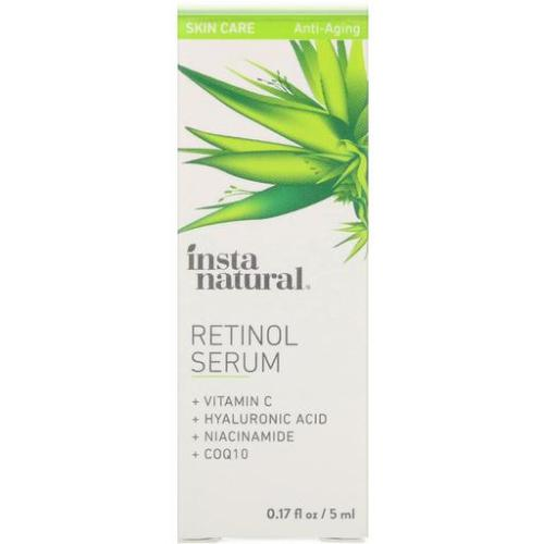 InstaNatural, Retinol Serum, Anti-Aging, 0.17 floz (5ml)
