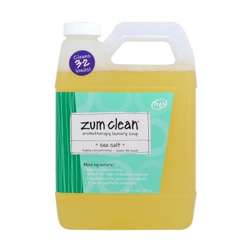Indigo Wild, Zum Clean, Aromatherapy Laundry Soap, Sea Salt, 32 fl oz (.94 L)