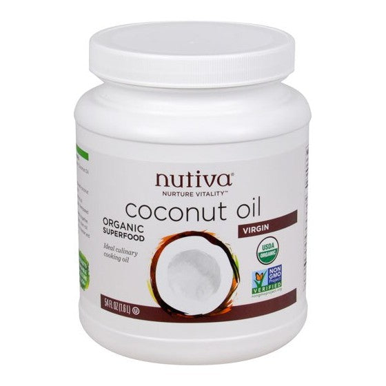 Nutiva Organic Virgin Coconut Oil  54 fl oz