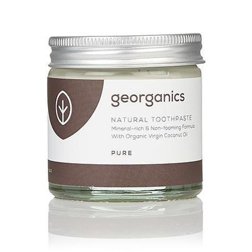 Geoganics Natural Toothpaste - Pure (60ml)
