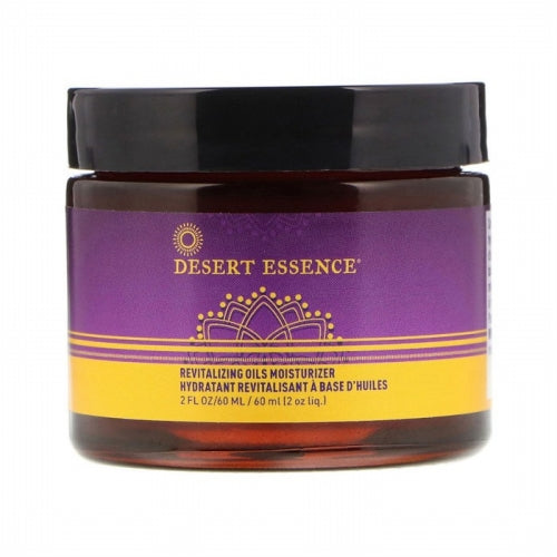 Desert Essence, Revitalizing Oils Moisturizer, 2 fl oz (60 ml)