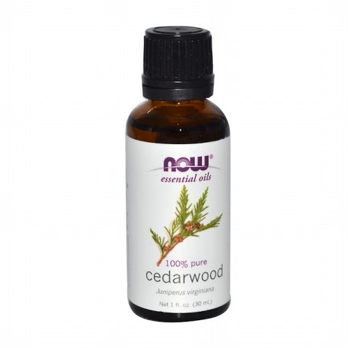 Now Foods, Essential Oils, Cedarwood, 1 fl oz (30 ml)