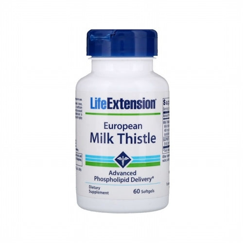 Life Extension, European Milk Thistle, 60 Softgels
