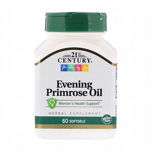 21st Century, Evening Primrose Oil, Women's Health Support, 60 Softgels