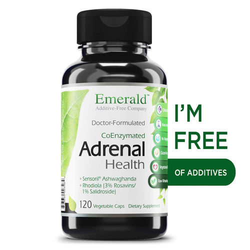 Emerald Labs Adrenal Health -- 120 Vegetable Capsules