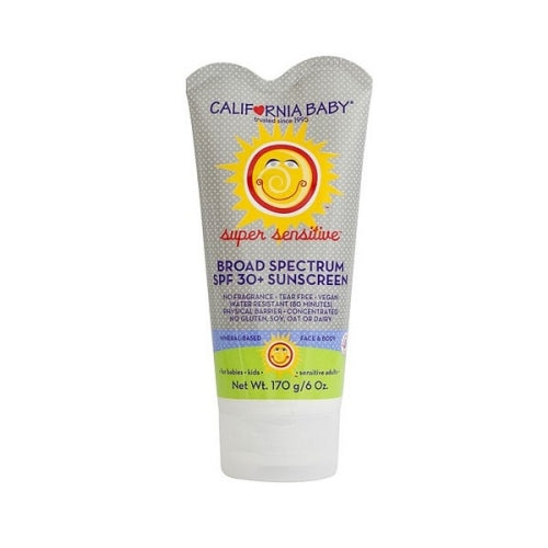 California Baby Broad Spectrum SPF 30 Plus Sunscreen No Fragrance -- 6 fl oz