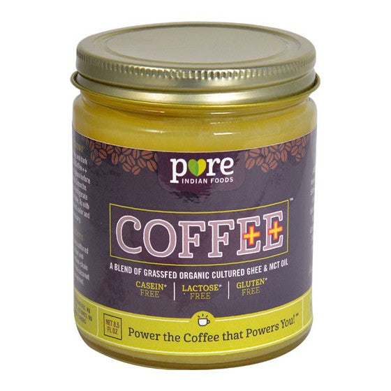 Pure Indian Foods Coffee++ Creamer Cultured Ghee & MCT Oil  8.5 fl oz