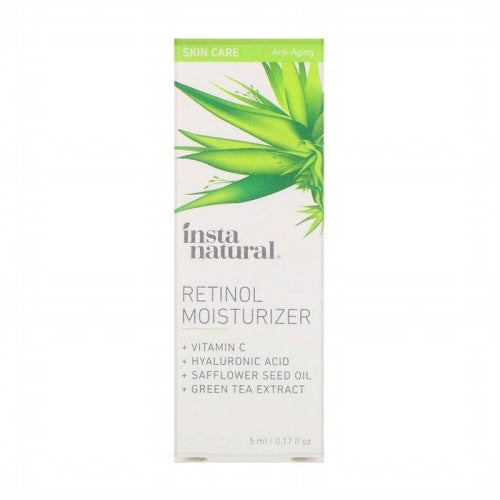 InstaNatural, Retinol Moisturizer, Anti-Aging, 0.17 fl oz (5 ml)