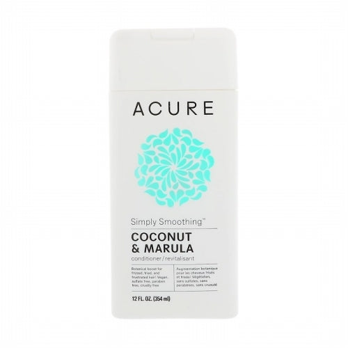 Acure, Simply Smoothing Conditioner, Coconut & Marula, 12 fl oz (354 ml)