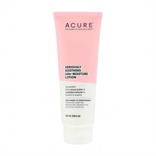 Acure, Seriously Soothing 24hr Moisture Lotion, 8 fl oz (236.5 ml)