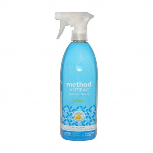 Method, Antibac, Bathroom Cleaner, Spearmint, 28 fl oz (828 ml)