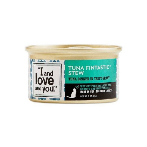 I and Love and You Canned Cat Food - Tuna Fintastic Stew
