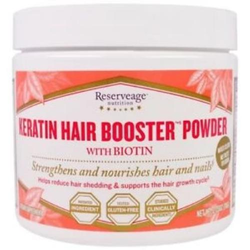 Reserveage Nutrition Keratin Hair Booster Power with Biotin – 2.75 oz