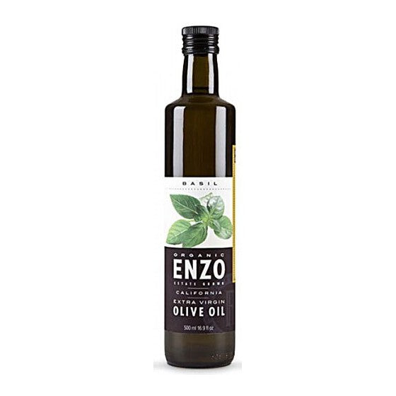 Enzo Olive Oil Co. Enzo's Table Organic Extra Virgin Olive Oil Basil  8.5 fl oz