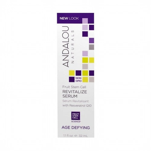 Andalou Naturals, Revitalize Serum with Resveratrol Q10, Age Defying, 1.1 fl oz (32 ml)