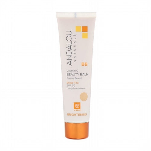 Andalou Naturals, BB Vitamin C Beauty Balm, Brightening, Sheer Tint, SPF 30, 2 fl oz (58 ml)